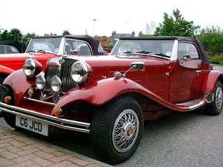 Robbie Gibson S Jba Kit Car Home Page